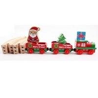 Gratis Verzending Track Trein Trein Set Kerst Spoorlijn Kinderen Creatieve Speelgoed