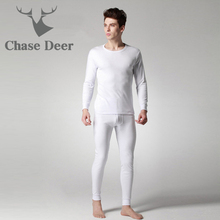 2019 Quality Long Johns Men Cotton Underwear New Brand Chase Deer Wint
