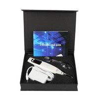 Laser Picosecondes Stylo ROUGE/BLEU Lumière Thérapie De Tatouage Cicatrice Rousseur Déplacement de Taupe Foncé Spot Remover Soins de La Peau Machine USA/UE Plug 30