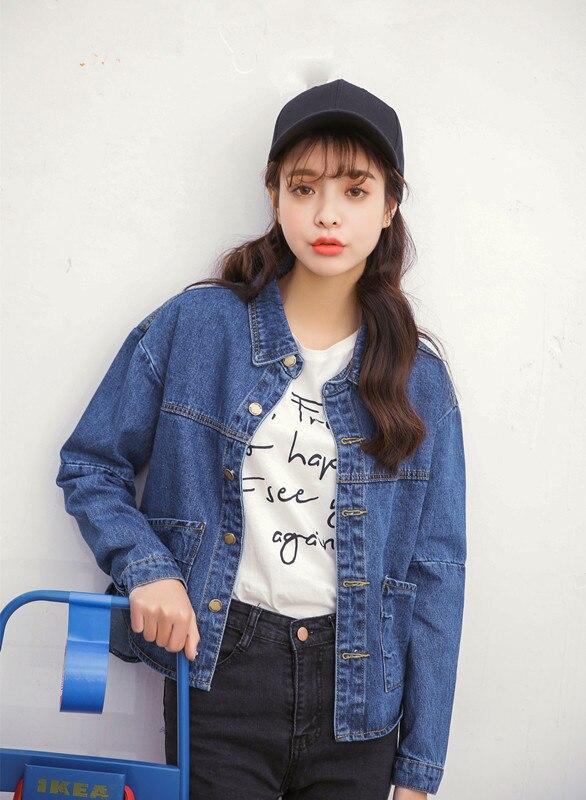Sl 2016 короткие персонализировала карман джинсовой куртке верхняя одежда джинсовая куртка женщин ( A6070 )