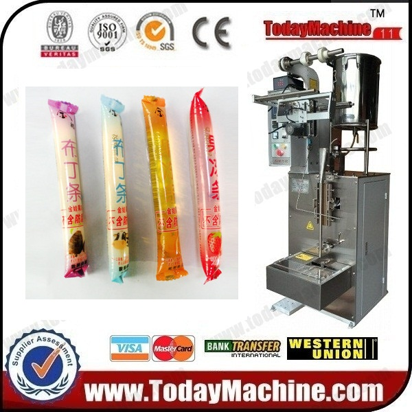 Relay Ice Pop Fruit Juice Plastic Soft Tube Bag Packing