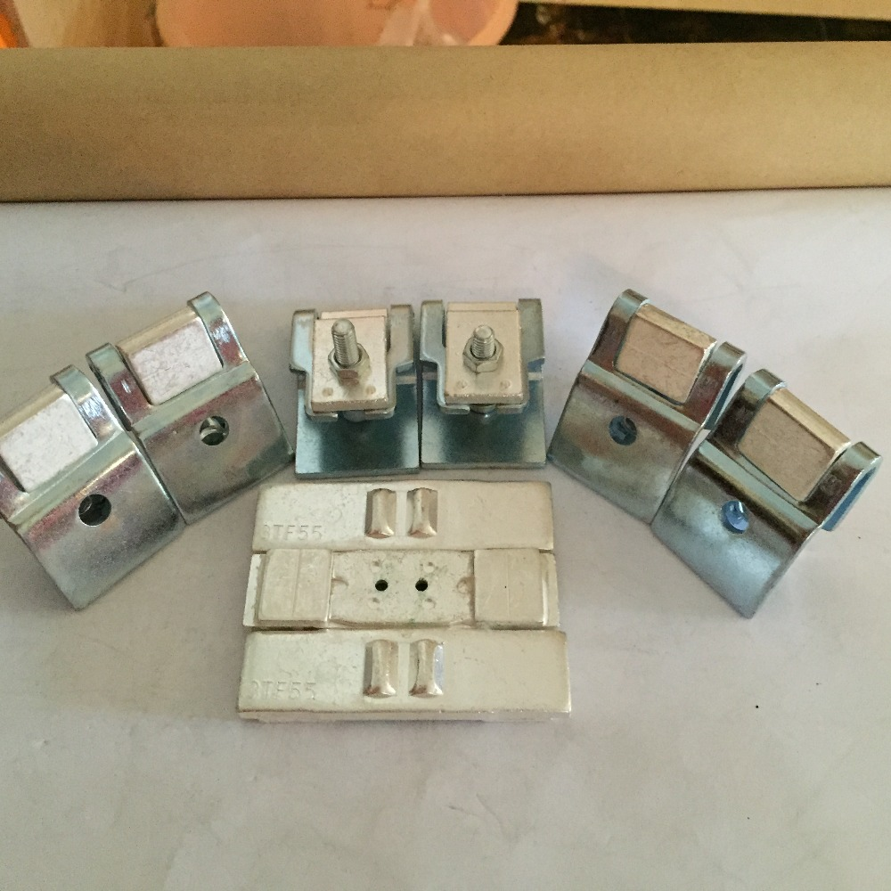 все цены на Original new 100% 3TF-55 CJX1-300 AC contactor Replacement Kits contact 3 moving 6 static national standard