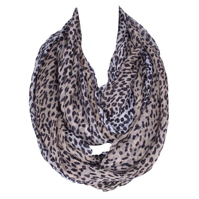 c02ab248af 2017 Fashion Cut Marks Coffee Gray Leopard Women Scarf Lady Summer Scarfs  For Loop Shawl Polyester Voile Scarves Size180 80cm