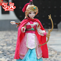 KURHN China Exquisite Ancient Costume Dolls MULAN ENLIST Movable Jointed Body Bjd Doll Chinese Doll Girl Toys Kids Birthday Gift