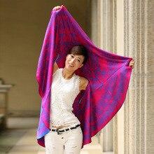 Двусторонняя одежда контрастных расцветок беременных Для женщин шаль беременности и родам шерсти пальто-мантия шаль Девушки, беременные женщины