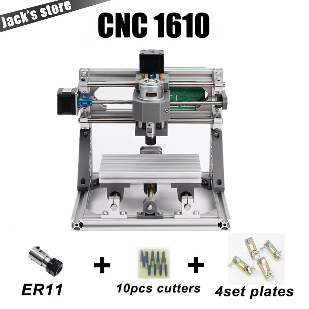 CNC 1610 avec ER11, diy cnc machine de gravure, mini Pcb Fraiseuse, Machine de Sculpture Sur Bois, cnc routeur, cnc1610, meilleur Avancée jouets