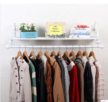 Wall Hangers For Clothes Cool 6060cm Iron Clothing Display Racks Wall Hanger Holder Bedroom