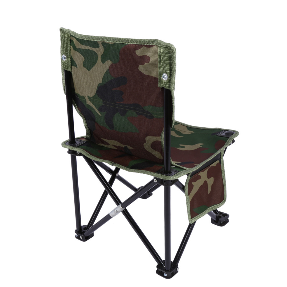 Outdoor Portable Folding Fishing Chair Camping Chair Stable Beach Picnic Chai
