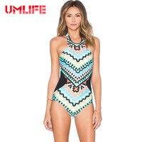 New Women Printed One Piece Swimsuit Sexy Backless Swimwear Bodysuit Summer Retro Monokini Bathing Suit Beachwear