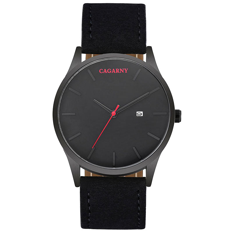 watch men Cagarny luxury brand Quartz Sports watches waterproof Leather Strap Watch Casual Relogio Masculino Wristwatches Clock new listing men watch luxury brand watches quartz clock fashion leather belts watch cheap sports wristwatch relogio male gift