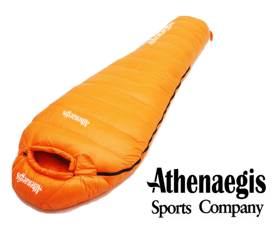 Athenaegis 400G white goose down filling can be spliced mummy ultra-light goose down sleeping bag парка canada goose 3811l 49