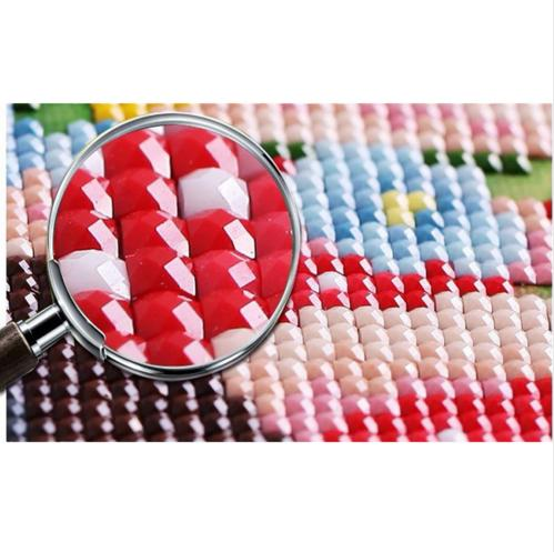 Diamant-Stickerei-Dekor 3DIY tierische rote Katze volle 100% Bereich - Kunst, Handwerk und Nähen - Foto 3