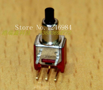 [SA]TS-22A are bent gilt tripod toggle button switch M5.08 reset normally open normally closed Deli Wei Q28--50pcs/lot