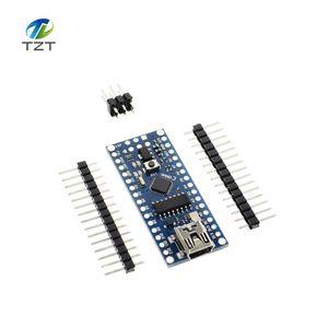Image 5 - 10pcs NANO V3.0 ATMEGA328P With the bootloader Nano 3.0 controller compatible nano CH340 USB driver 16Mhz with CABLE for Arduino