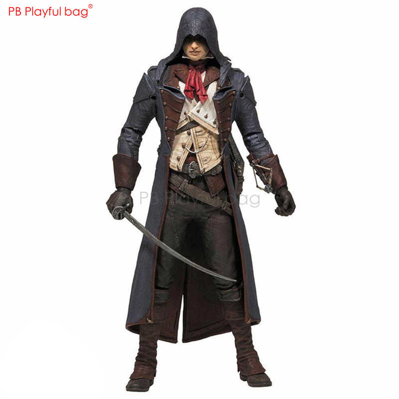 Assassino Arno Victor Dorian figura PVC collectible Action figure Movable Boneca Brinquedos Assassino Favorito Dos Fãs de coleções HC23