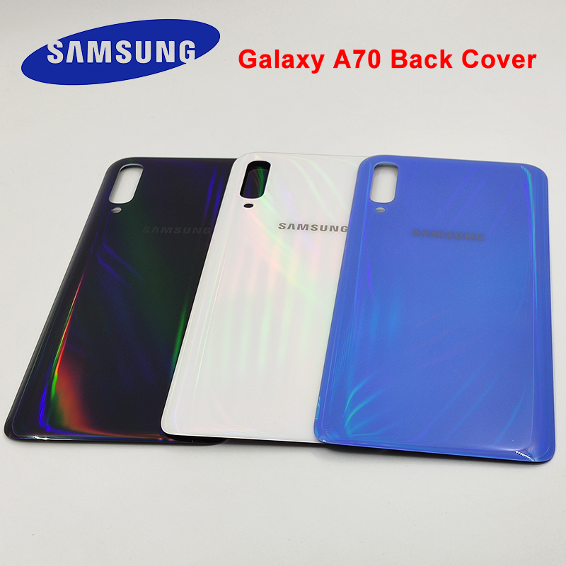 Original Samsung Galaxy A70 A 70 2019 Back Battery Cover Replacement Rear Door Housing Cover Case For Galaxy SM-A705F A705 A705F