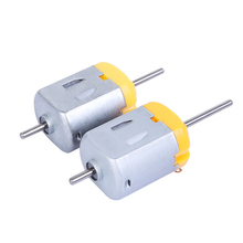 3Pcs Micro DC Motor DIY Toy 130 Small Electric Motor 1V - 6V 0.35A-0.4A Low Voltage DC Motor for DIY Toys Hobbies Smart Car 1 pcs new mini 130 dc motor micro motor for diy four wheel motor small drive robotic scientific experiments