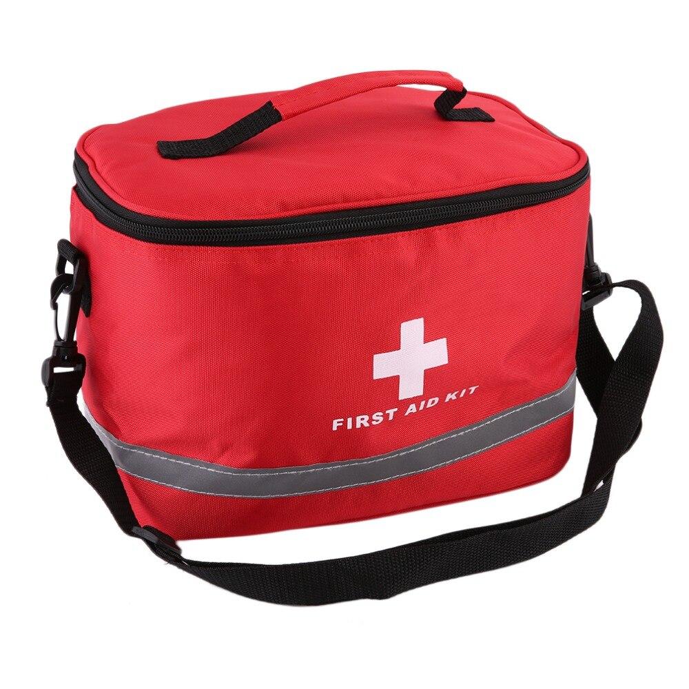 OUTAD Notfall überleben tasche Mini Familie First Aid Kit Sport Reise kits Home Medical Bag Außen Auto Erste Hilfe Tasche