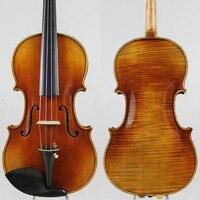 Copy Antonius Stradivarius 1716 Concert 4 4 Violin Antiqued Oil Varnish 4 Professional Handmade Antique Violin