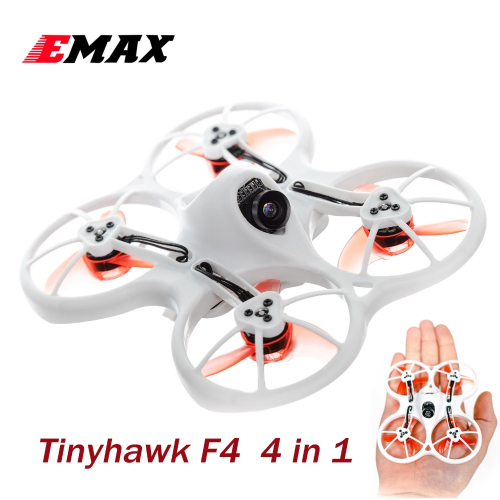 Emax Tinyhawk Indoor FPV Racing Drone BNF F4 4 in1 3A 15000KV 37CH 25mW 600TVL VTX