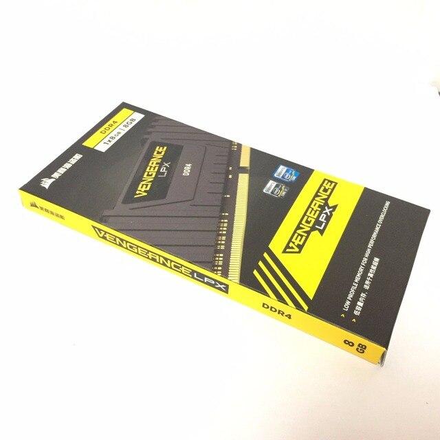 CORSAIR Vengeance LPX 8 Гб 8 г DDR4 PC4 2400 МГц 3000 МГц 3200 модуль Mhz 2666 МГц 3600 МГц ПК ОЗУ компьютера памяти 16 ГБ 32 ГБ DIMM 2