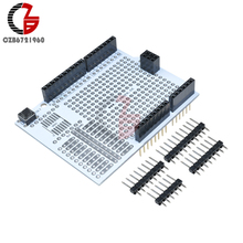 Prototype Development Board Expansion Shield PCB Bread Board Breadboard Protoshield Module for Arduino UNO R3 One Diy Kit 2.54mm