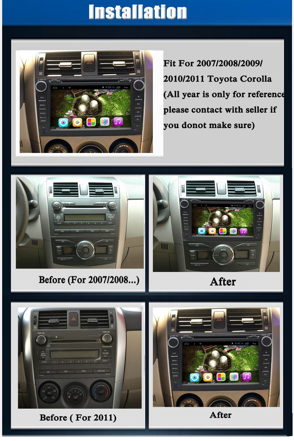 Android 8.1car DVD player for Camry 2006 2007 2008 2009 2011 Car DVD Player 2010 Head Unit Car Stereo radio image