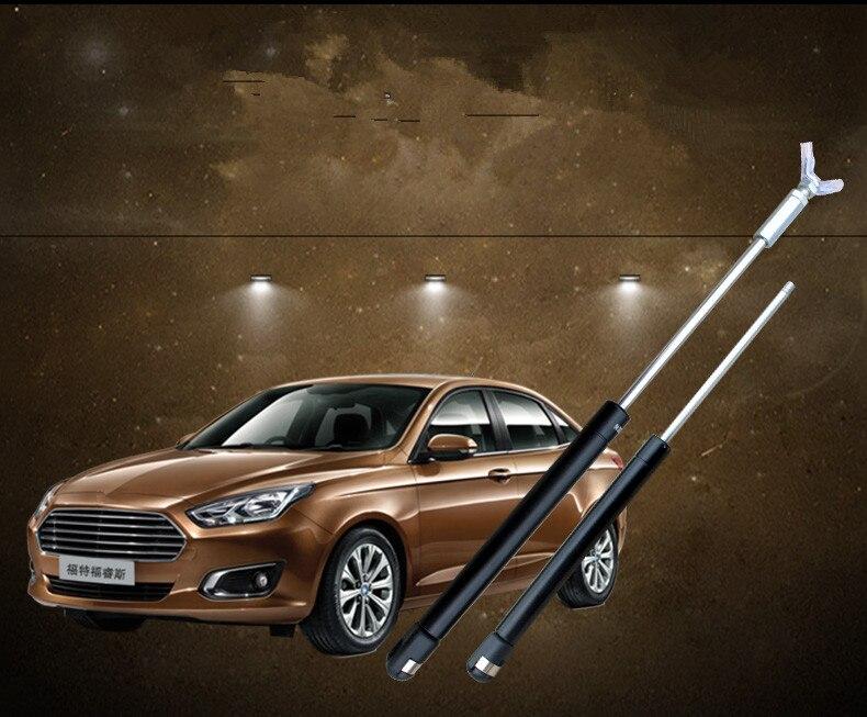 2 PCS Queue Arrière Tronc Porte Bars Jambe Hydraulique tige Pour Ford Escort ADB072