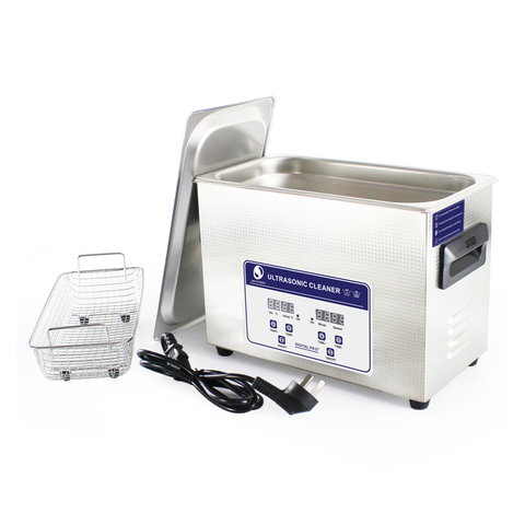 SKYMEN Ultrasonic Cleaner Bath 4.5L 180W 40kHz For Pen-heads, Printer heads, Inkjet Cartridges and Seals,Coins ,Auto parts Islamabad