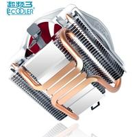 Pccooler V6 4 Copper Heatpipes CPU Cooler For AMD Intel 775 1150 1151 1155 CPU Radiator