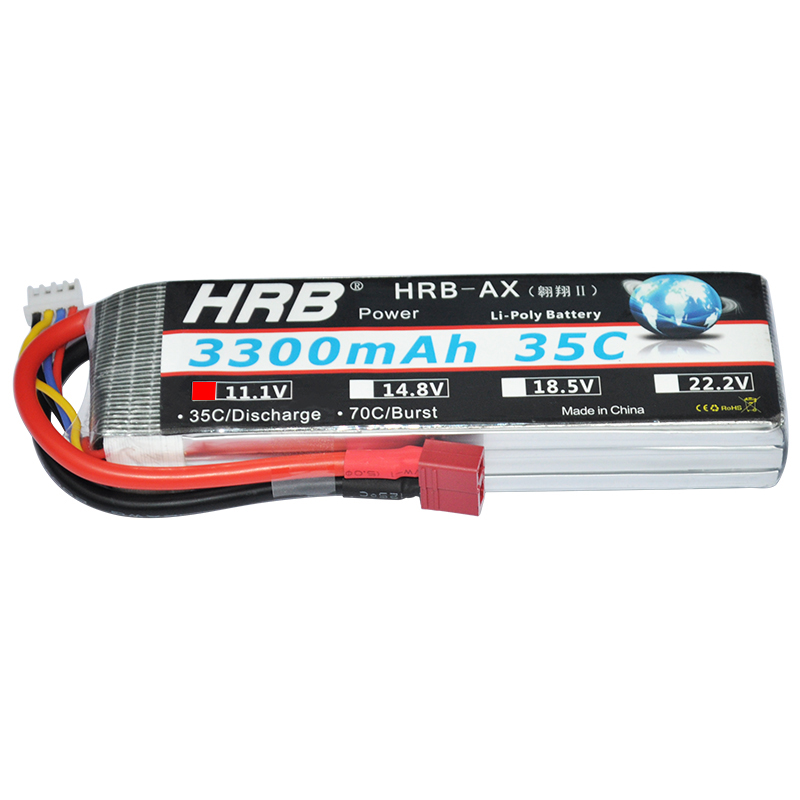 HRB RC Lipo Battery 3S 11.1V 3300mAh 35C MAX 70C For RC Li-polymer Bateria RC Helicopter Airplane Truck Car Drone AKKU hrb rc lipo battery 14 8v 2600mah 35c 70c for rc helicopters quadcopter car fpv racing league