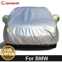 Cawanerl Thicken Cotton Car Cover Sun Snow Hail Rain Protection Cover For BMW 3 4 Series E90 E91 E92 E93 F30 F31 F35 F32 F33 F36