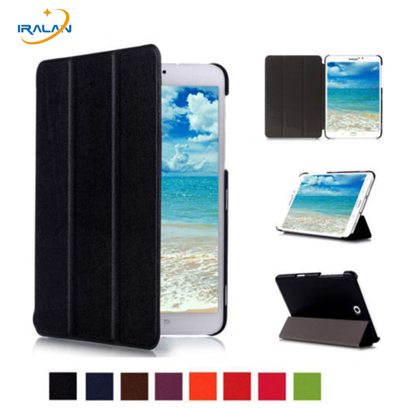 2017 Smart Magnetic Stand pu leather Case cover For Samsung Galaxy Tab S2 8.0 T710 SM-T715 T715 8'' tablet cover case+film+pen luxury folding flip smart pu leather case book cover for samsung galaxy tab s 8 4 t700 t705 sleep wake function screen film pen