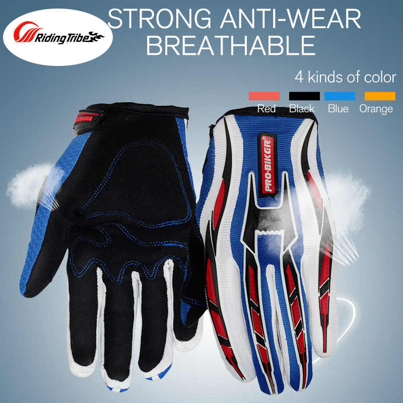 PRO-BIKER Motorcycle Gloves Full Finger Motorcross Dirt Racing Offroad ATV Riding Scooter Guantes Motocicleta Gears Gloves CE-01