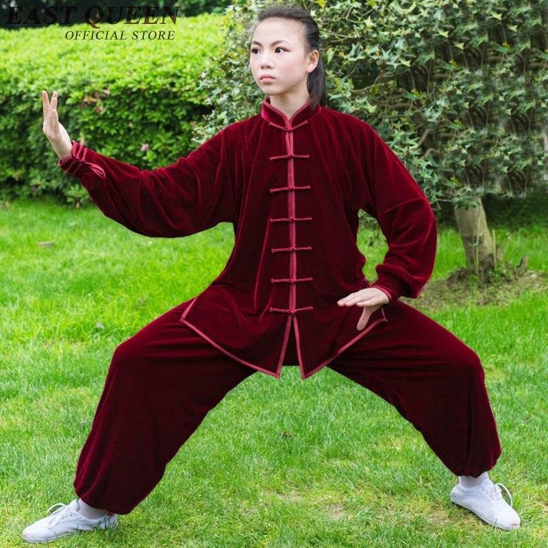 Tai chi uniforme tai chi vêtements femmes d'hiver taichi uniforme kungfu vêtements NN0934 C