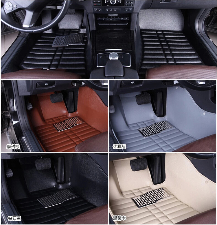 Car Floor Mats Covers top grade anti-scratch fire resistant waterproof durable 5D senior for HONDA,for CIVIC, ,Styling набор емкостей miralight прованс в корзине 0 3 л 3 шт lb14 08