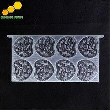 Расческа медовые кассеты в рамке пластиковая коробка для хранения меда(1 шт. медовая расческа рамка+ 16 шт. в форме сердца расческа коробки