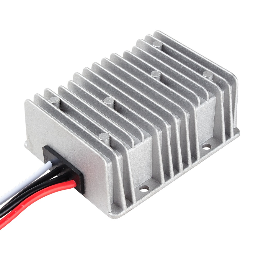 DC Voltage Converter Regulator Step Up DC 12V to DC 24V 20A 480W Waterproof Power Supply Boost Transformer 10pcs converter dc 24v 18v 36v to 24v 10a dc boost buck power module voltage regulator rosh ce waterproof