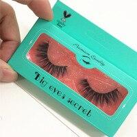 10 pairs 3D Mink Lashes Eyelash Extension 100% Handmade Thick Volume Long False Lash Makeup Giltter Packing free shipping
