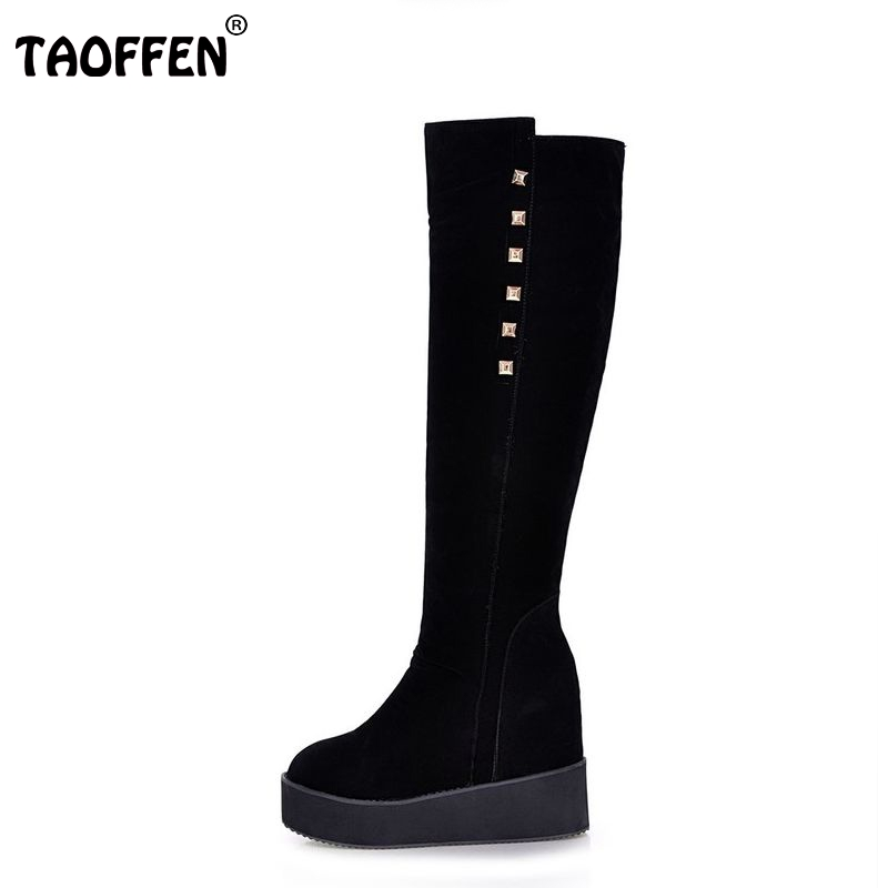 women platform over knee boots snow boot motorcycle warm winter botas fashion masculina heels footwear shoes P19922 size 32-43 споттер blue weld plus 230