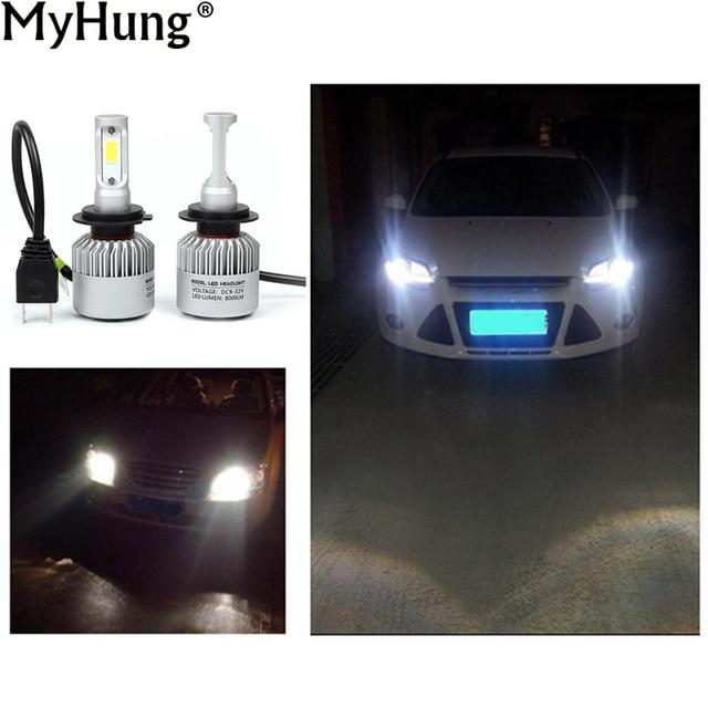 H7 LED Car Headlight Bulbs 8000K 36W 12V Car Head Fog L& Plugu0026Play COB Auto Replacement  sc 1 st  AliExpress.com & H7 LED Car Headlight Bulbs 8000K 36W 12V Car Head Fog Lamp Plugu0026Play ...