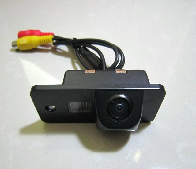 CAR REAR VIEW REVERSE COLOR CCD/170 DEGREE/WATERPROOF/WITH REFERENCE LINE CAMERA FOR AUDI A3 A4 A5 A6 A6L A8 Q7 S4 RS4 S5 Q5