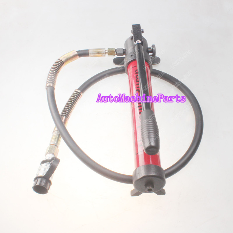 ФОТО New High Pressure Hydraulic Hand Pump CP-180 Manual Hydraulic Pressure Pump