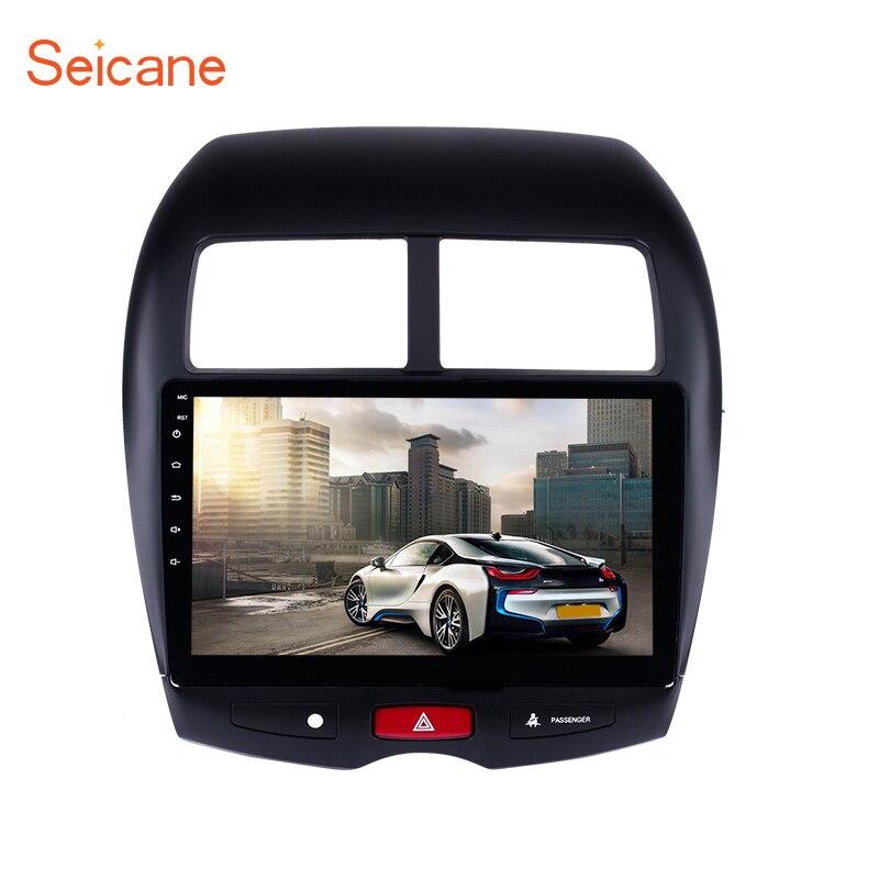 Seicane Android 6 0 7 1 8 1 GPS 10 1 Car Radio For Mitsubishi ASX
