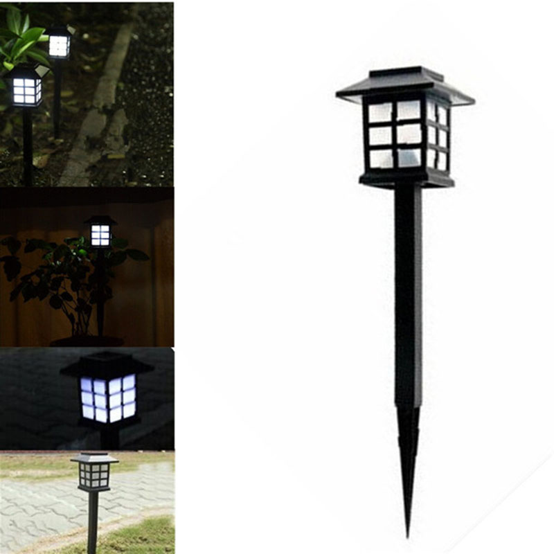 TAMPROAD 4 Pcs Waterproof Cottage Style LED Solar Garden Light Outdoor  Garden Path Road Lawn Post Lamps Decoration Deck Lighting In LED Lawn Lamps  From ...