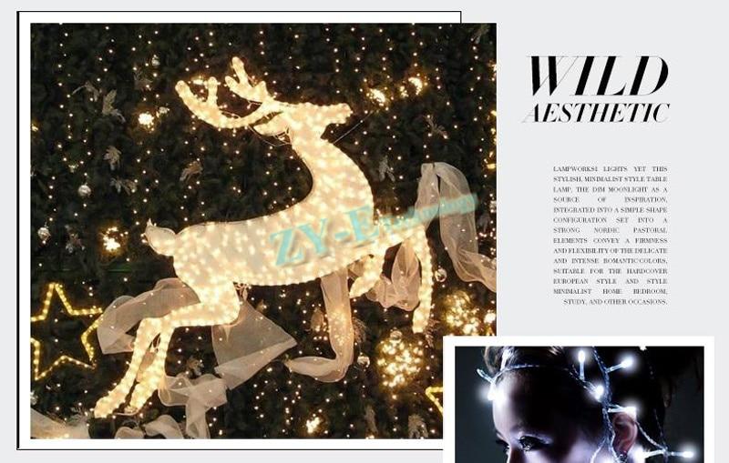 100 шт. строка света led индикатор 3 м 30 светодиодов Рождество Праздничные огни/Свадебные/LED украшения лампа серии компанией DHL FEDEX