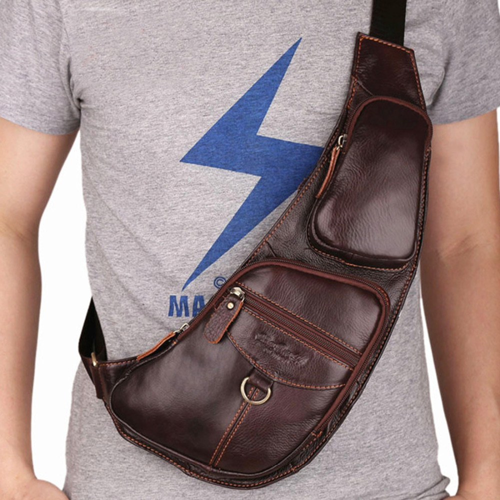 Popular Mens Leather Sling Bag-Buy Cheap Mens Leather Sling Bag ...