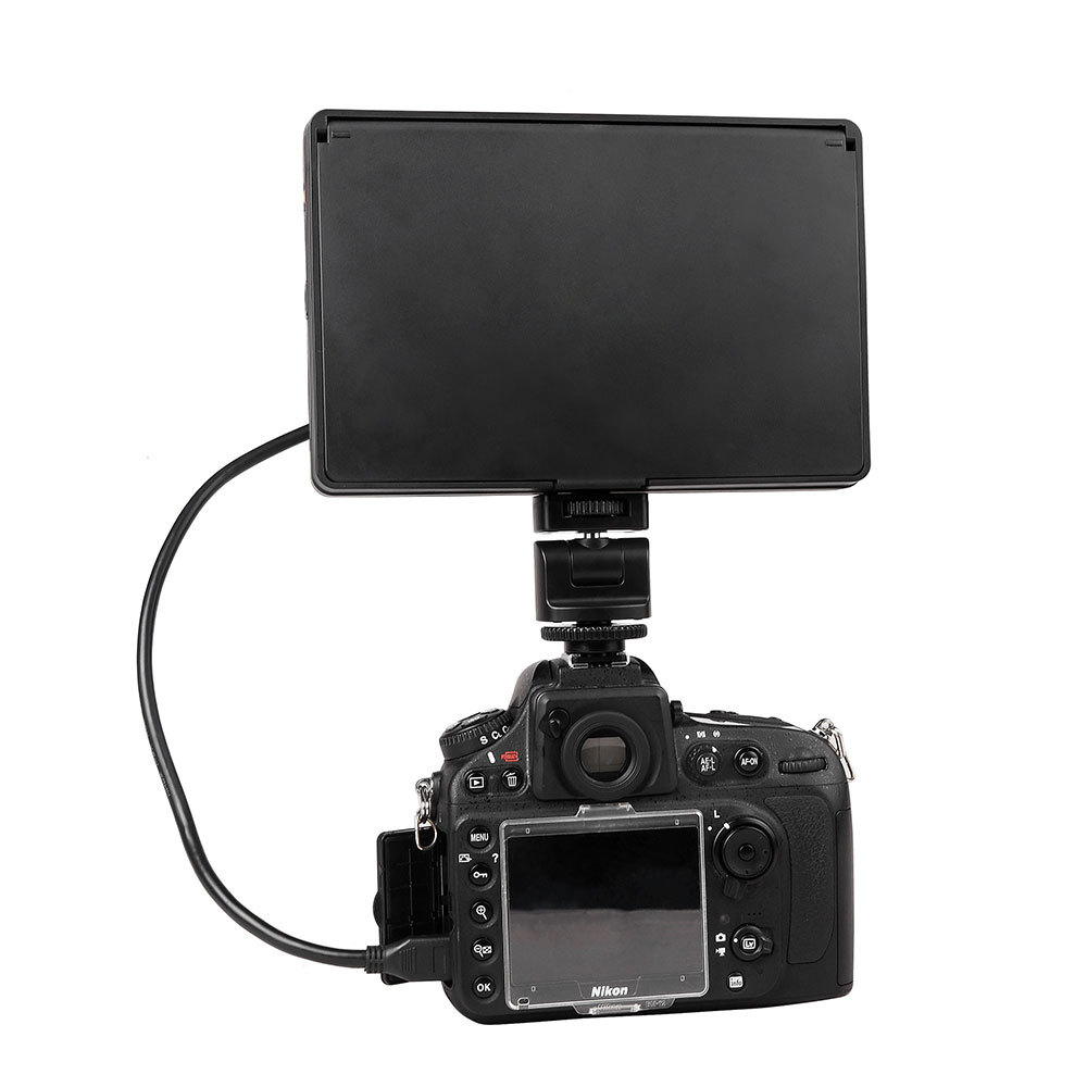 Viltrox 7  DC-70 II clip-on Color TFT LCD Monitor HDMI AV Input 1024*600 DSLR Camera + NP-FM500H battery + battery charger