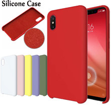Fundas originales HYSOWENDLY Macaron para Redmi 5 Plus 6 fundas de silicona mate 6Pro para Xiaomi 6 6X8 8Pro 8lite Mix 2 2S Max 3 Plus(China)