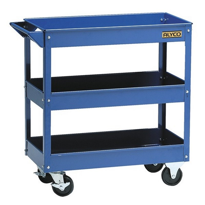 ALYCO 192725-Cart Workshop With 3 Trays 740x380x780mm 15Kg